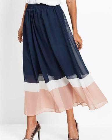 Šifónová sukňa