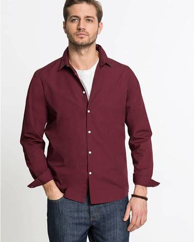 Košeľa s dlhým rukávom Slim Fit