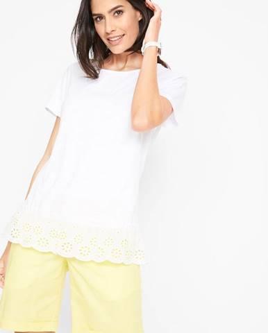 Tričko s ozdobnou výšivkou