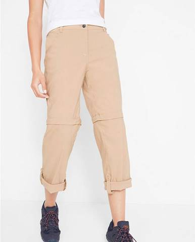 Funkčné trekingové nohavice na odzipsovanie