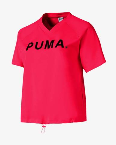 Tričko Puma Chase V Tee Červená