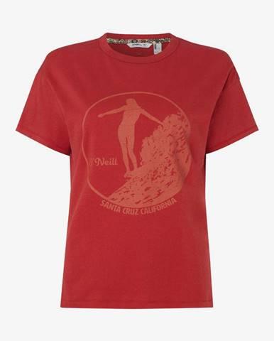 Tričko O'Neill Lw Olympia T-Shirt Červená