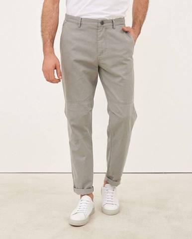 Pánske bavlnené nohavice  sivá
