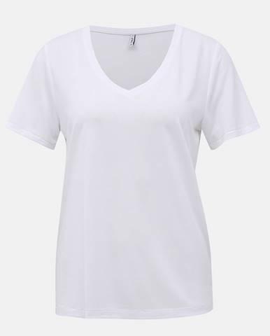 Biele basic tričko ONLY Free Life