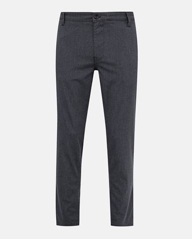 Šedé slim fit nohavice Selected Homme
