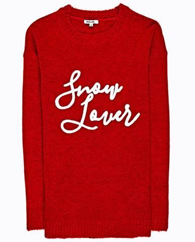 Dlhý sveter s nápisom
