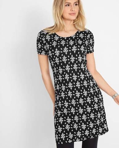 Krátke úpletové šaty