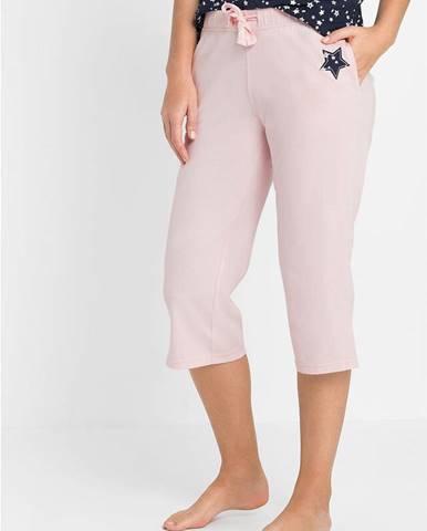 Capri pyžamové nohavice