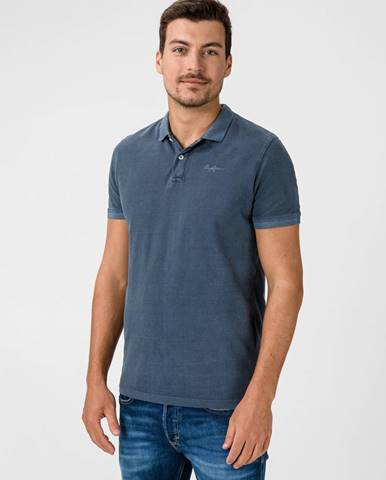 Vincent Polo triko Pepe Jeans Modrá