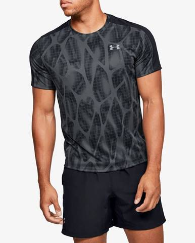 Tričko Under Armour Speed Stride Printed Ss Šedá