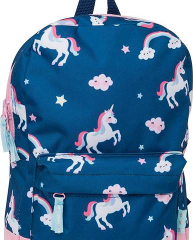 Deichmann - Modrý batoh s jednorožcami