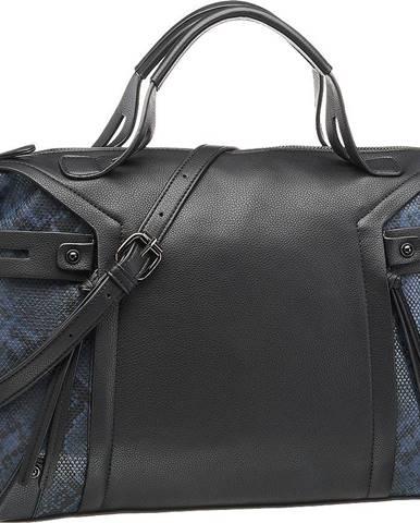 Graceland - Čierna kabelka so zvieracím vzorom Graceland