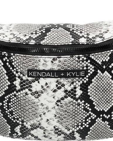 Kendall + Kylie - Sivá ľadvinka Kendall + Kylie so zvieracím vzorom