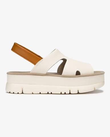 Oruga Sandále Camper Biela