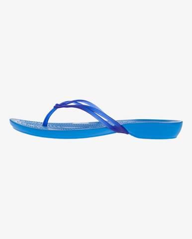 Isabella Žabky Crocs Modrá