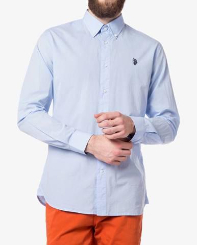 Košile U.S. Polo Assn Modrá