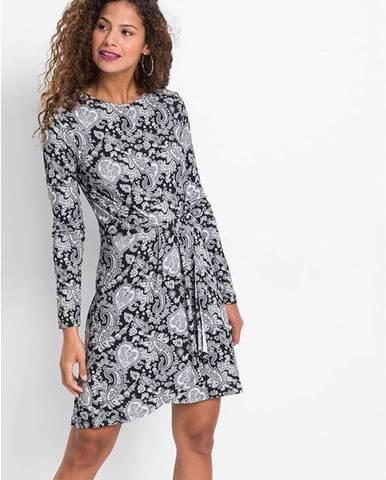 Šaty s potlačou