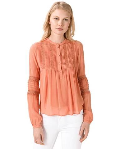 Vero Moda Kirsten Blúzka Oranžová