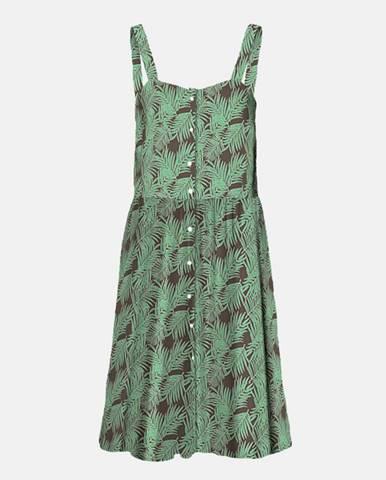 Zelené kvetované šaty Noisy May