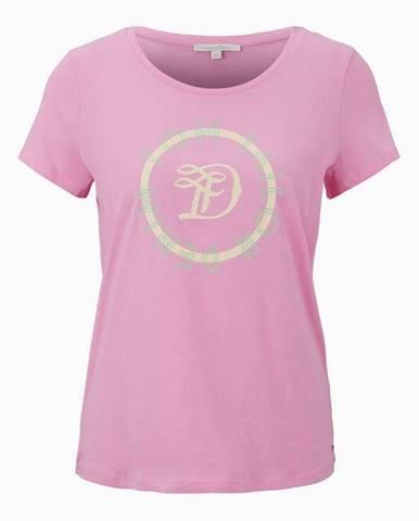Ružové dámske tričko Tom Tailor Denim