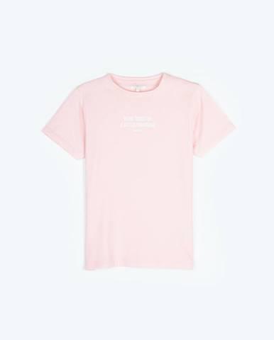 Tričko nápisom