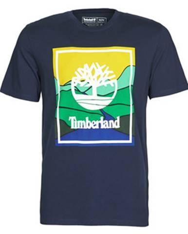 Tričká s krátkym rukávom Timberland  SS KENNEBEC RIVER HORIZON GRAPHIC TEE
