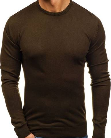Zelený pánsky sveter