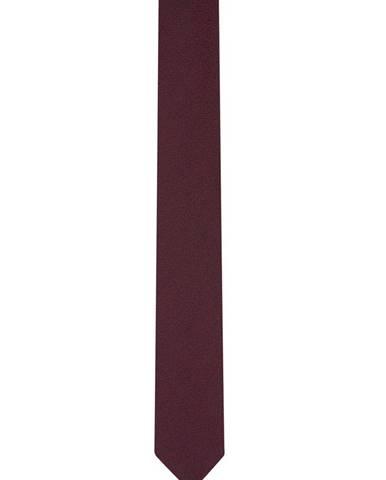 Pánska kravata  červená