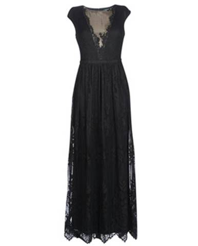 Dlhé šaty Lauren Ralph Lauren  CAP SLEEVE LACE EVENING DRESS