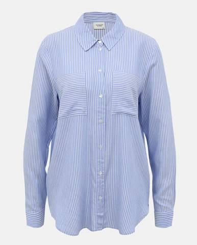 Svetlomodrá pruhovaná košeľa Jacqueline de Yong Tom