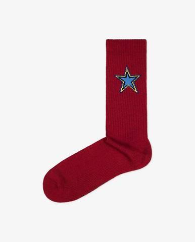 Ponožky Converse Mens Sport Inspired crew AW25 Červená