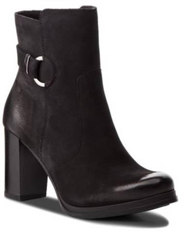 Členkové topánky Lasocki SEWERA-01 nubuk,koža(useň) lícová