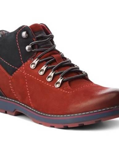 Šnurovacia obuv Lasocki for men MI07-A355-A206-01 nubuk,koža(useň) lícová