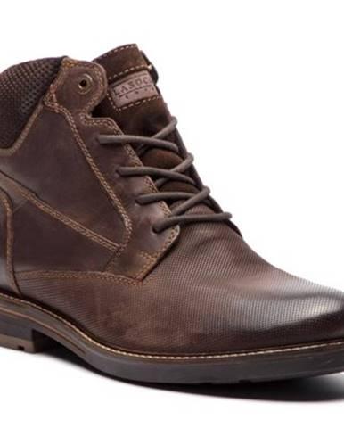Šnurovacia obuv Lasocki for men MI08-C393-422-01 nubuk,koža(useň) zamšová,koža(useň) lícová