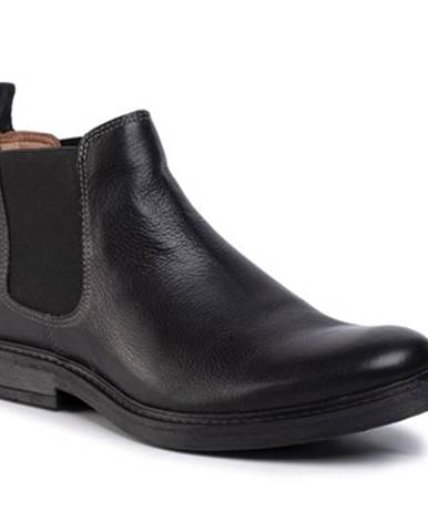 Členkové topánky Gino Rossi MB-YURI-04 koža(useň) lícová