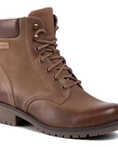 Šnurovacia obuv Lasocki WI20-SYRENA-04 nubuk,koža(useň) lícová