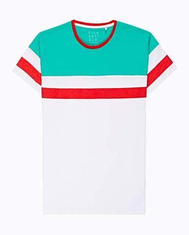 Viacfarebné tričko