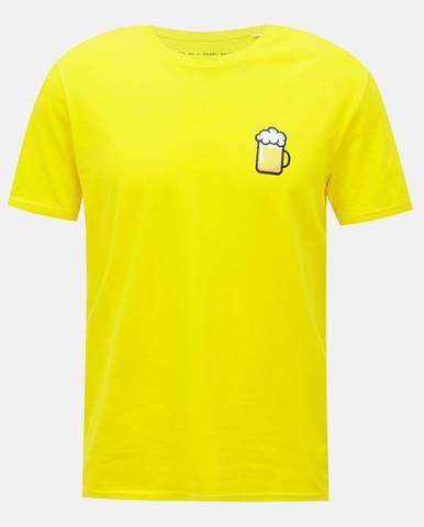 Žlté pánske tričko ZOOT Original Velký pívo