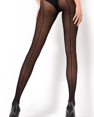 Vzorované pančuchové nohavice Lara1 30 DEN