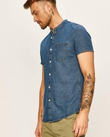 Tom Tailor Denim - Rifľová košeľa