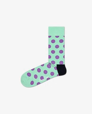 Happy Socks Big Dot Ponožky Modrá Zelená