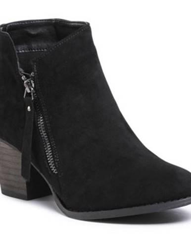 Členkové topánky  WS19226-11 Materiał tekstylny