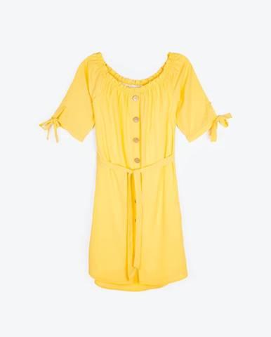 Šaty s gombíkmi