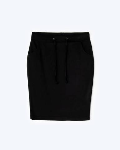 Melírovaná mini sukňa