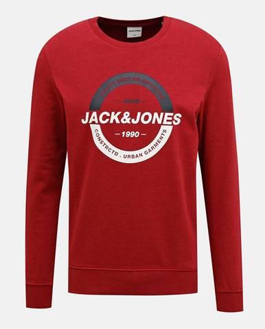 Červená mikina Jack & Jones Strong