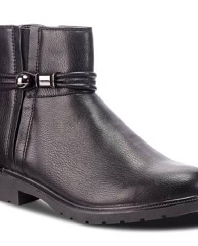 Členkové topánky Jenny Fairy WYL1017-9 koža ekologická