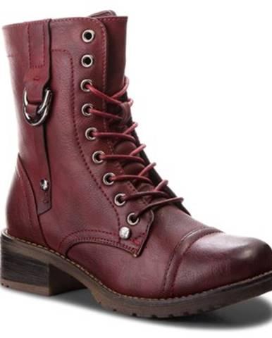 Šnurovacia obuv Jenny Fairy WS16357-7 koža ekologická