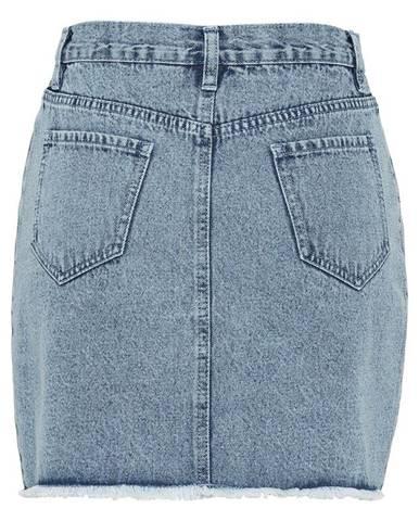 Džínsová sukňa, bio bavlna