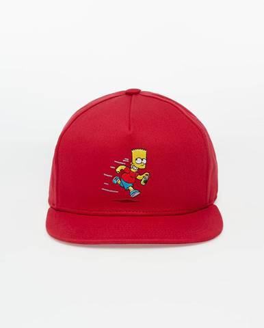 Vans x The Simpsons Cap Red