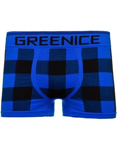 Modré pánske boxerky